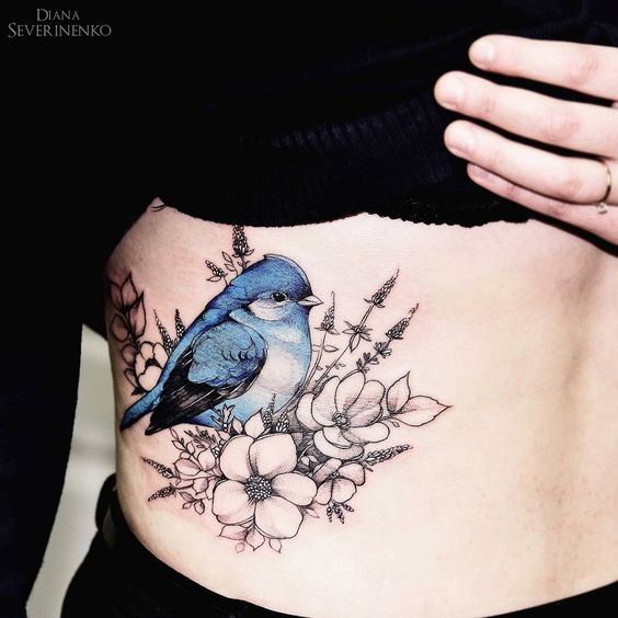 27 Gorgeous Bird Tattoos For Free People Styleoholic Ideas And Designs
