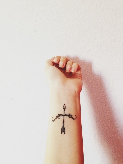 Bow And Arrow Tattoo Tumblr Ideas And Designs