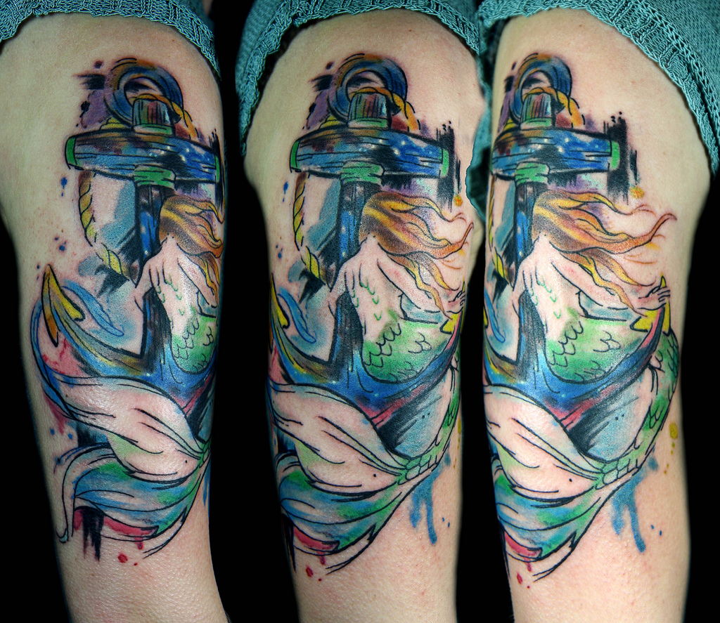 14 Beautiful Ideas For Water Color Tattoos Tattoo Com Ideas And Designs
