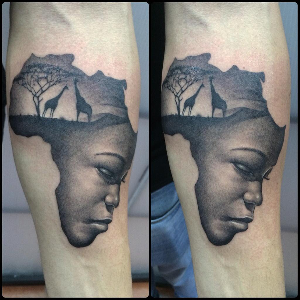Pol Tattoo ジプシー On Twitter Mama África Ideas And Designs