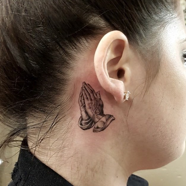 Behind The Ear Tattoo Pain – How Much Do They Hurt Ideas And Designs