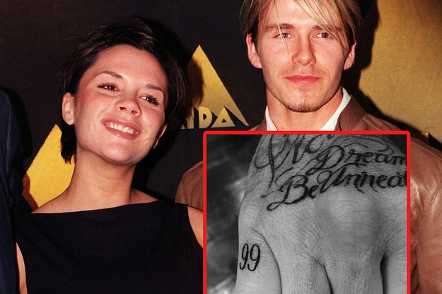 David Beckham Has Got A New Tattoo And It S For The Ideas And Designs