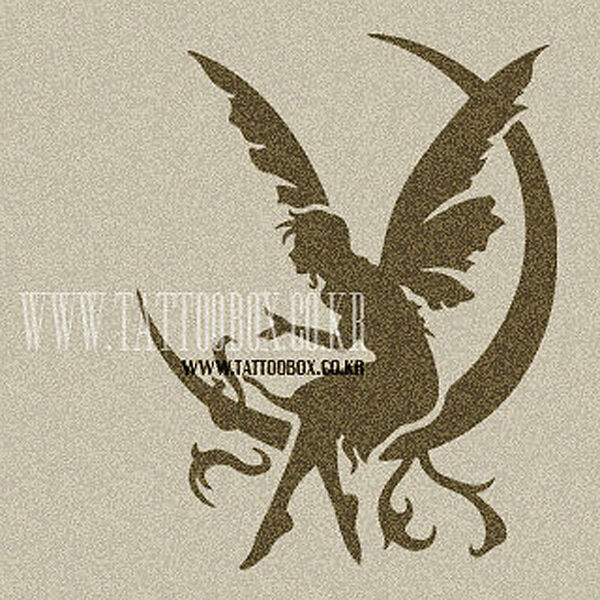 Reusable Airbrush Tattoo Stencil Templates Fairy 2 M Ideas And Designs