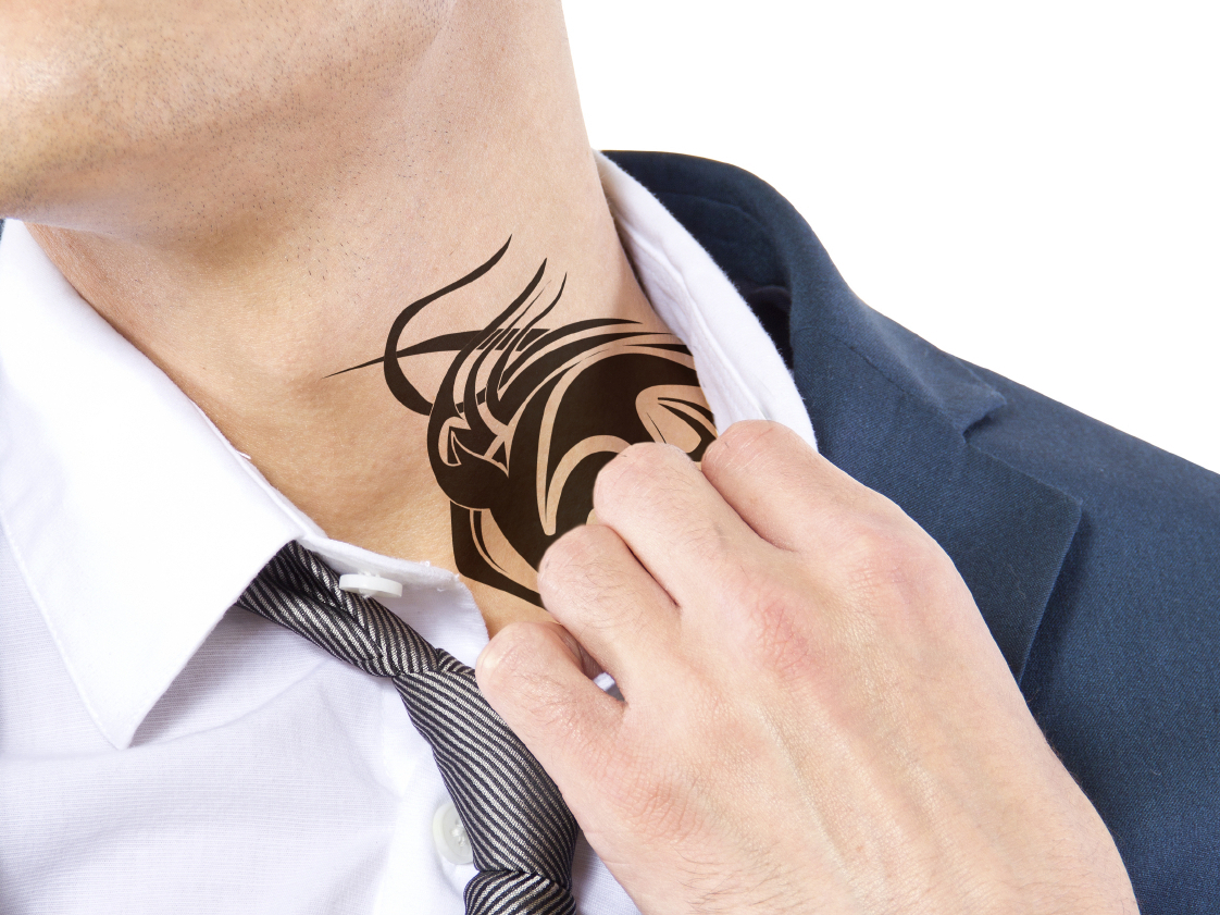 Job Seekers Still Have To Hide Tattoos From The Neck Up Ideas And Designs
