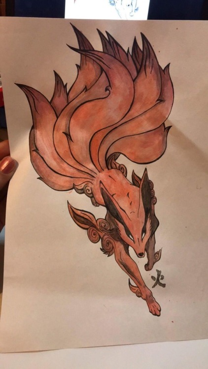 Naruto Nine Tailed Fox Tattoo Tumblr Ideas And Designs