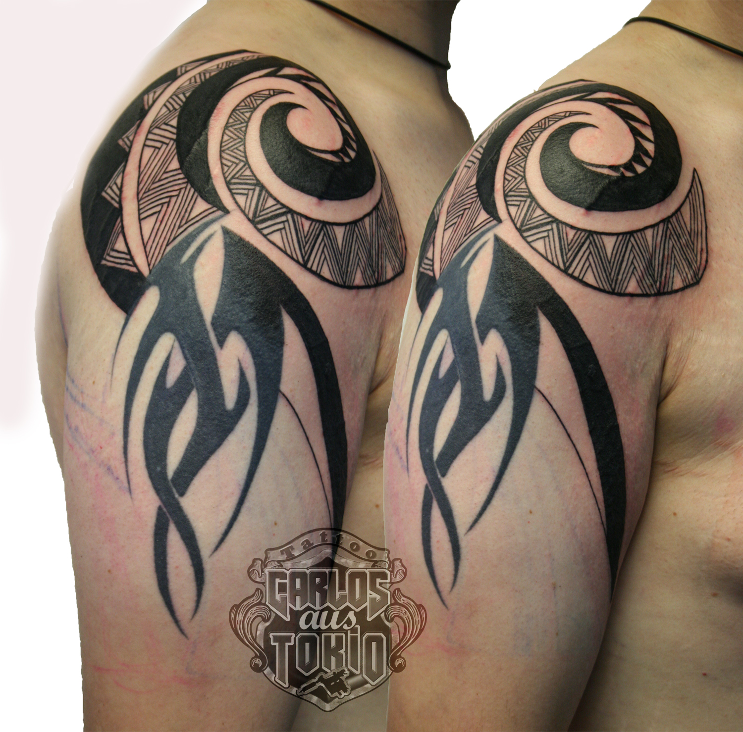 Adding New Tribal To Life – Hybrid Tattoos Done With Attitude Ideas And Designs