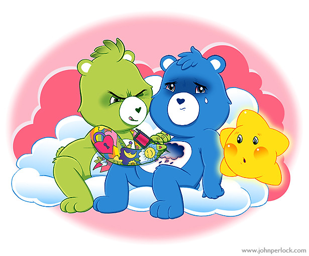 Care Bear Chest Tattoo Copyright John Perlock 2011 The Ideas And Designs