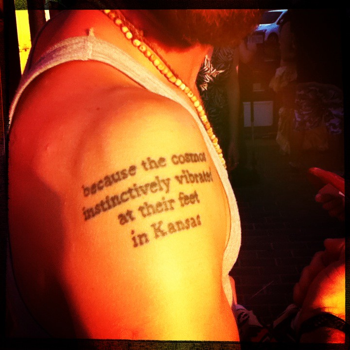 Kansas Tattoo Because The Cosmos Instinctively Vibrates Ideas And Designs