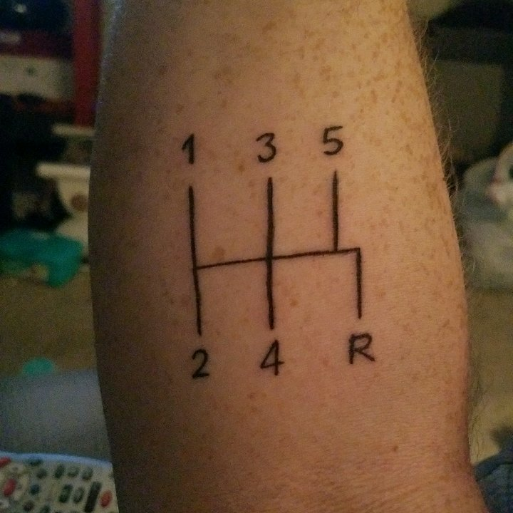Anybody Have Car Related Tattoos I Just Got This Friday Ideas And Designs