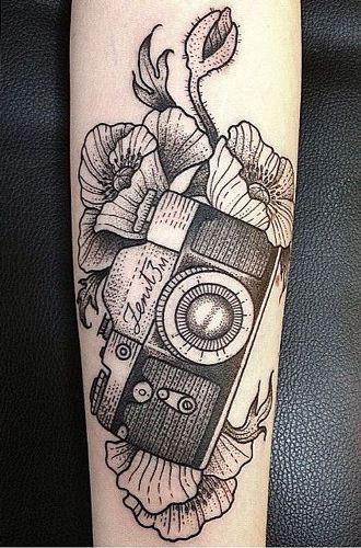 Top 9 Camera Tattoo Designs And Pictures Styles At Life Ideas And Designs