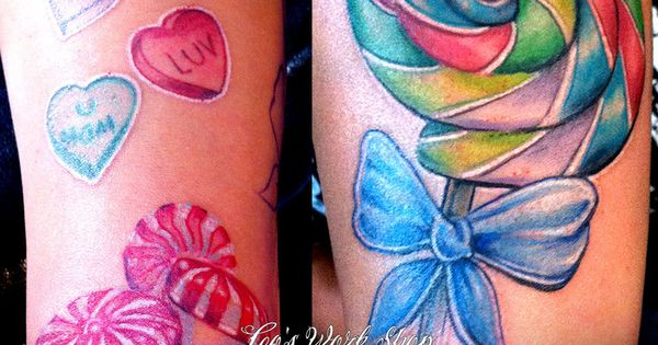Candy Tattoos For Girls Candy Shop Tattoo Candy Shop Ideas And Designs