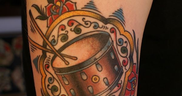 One Of Own Tattoos My 1940 S Slingerland Radio King Snare Ideas And Designs
