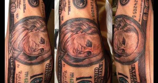 100 Dollar Bill Tattoos Pinterest Bill O Brien And Ideas And Designs