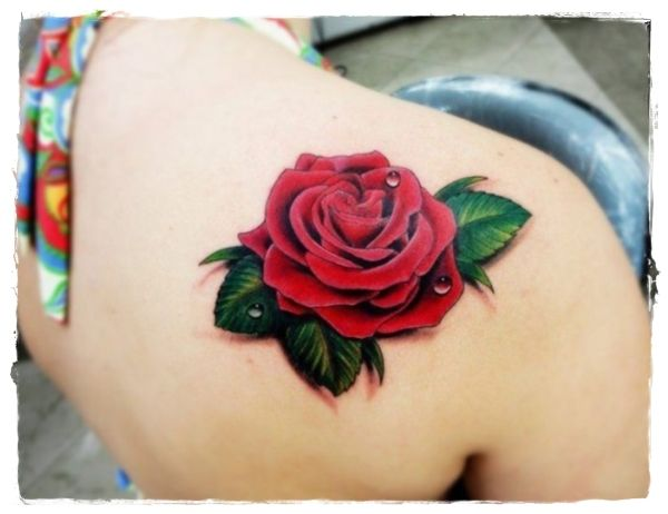 Best 25 Colorful Rose Tattoos Ideas On Pinterest Tattoo Ideas And Designs