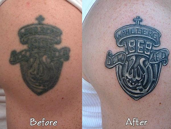 Donnie Wahlberg S Tattoo Had Aged Over Time Tattoo Artist Ideas And Designs