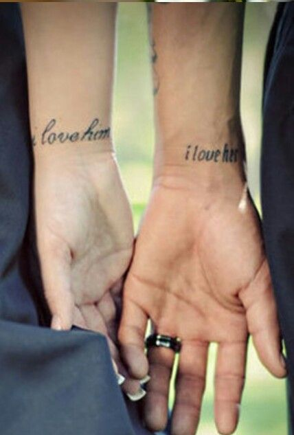 Cute Marriage Tattoo For My Husband Pinterest Ideas And Designs