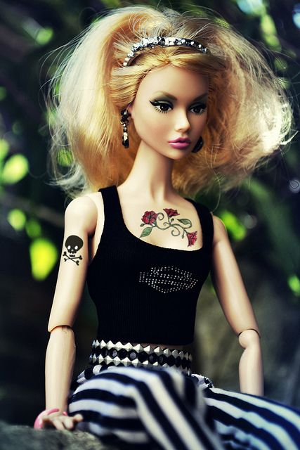 1000 Images About Tattoo Barbie On Pinterest My Size Ideas And Designs