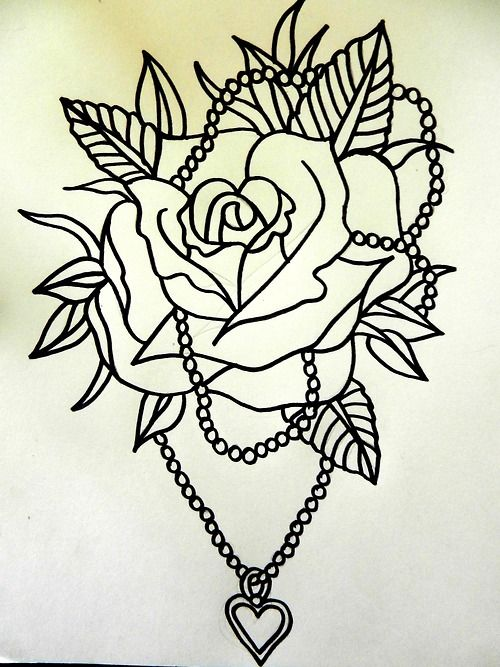 Traditional Rose Tattoo Tattoo Flash Traditional Rose Ideas And Designs