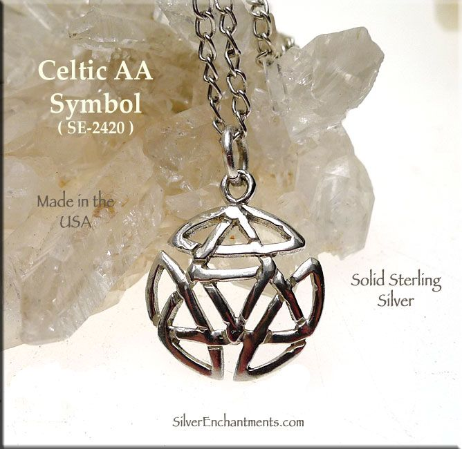 Celtic Alcoholics Anonymous Sobriety Symbol Charm Ideas And Designs