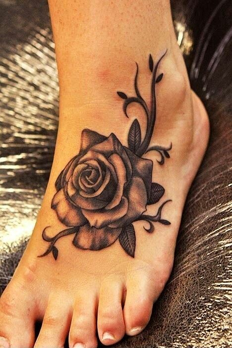 10 Artistic Flower Tattoo Designs Roses In Memory Of Ideas And Designs