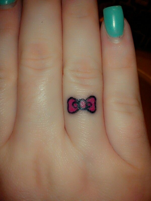 Hello Kitty Hello Kitty Tattoo Bow Tattoo Bow Cute Ideas And Designs