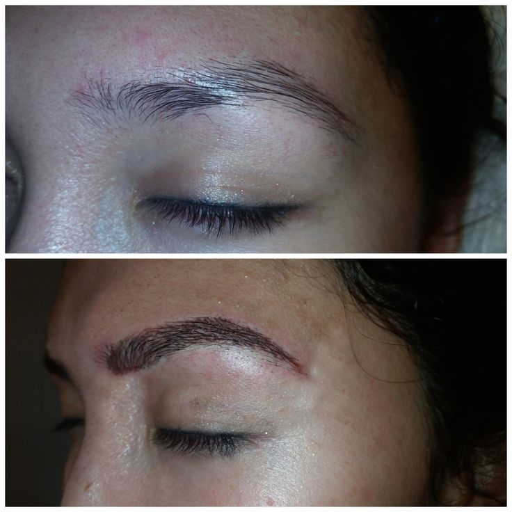 Eyebrow Embroidery Semi Permanent Tattoo By Pro Makeup Ideas And Designs