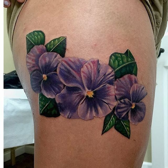 Best 25 Violet Flower Tattoos Ideas On Pinterest Ideas And Designs