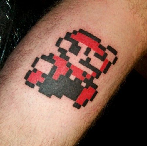 Best 25 Super Mario Tattoo Ideas On Pinterest Mario Ideas And Designs