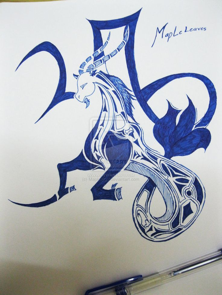 25 Best Ideas About Capricorn Tattoo On Pinterest Ideas And Designs