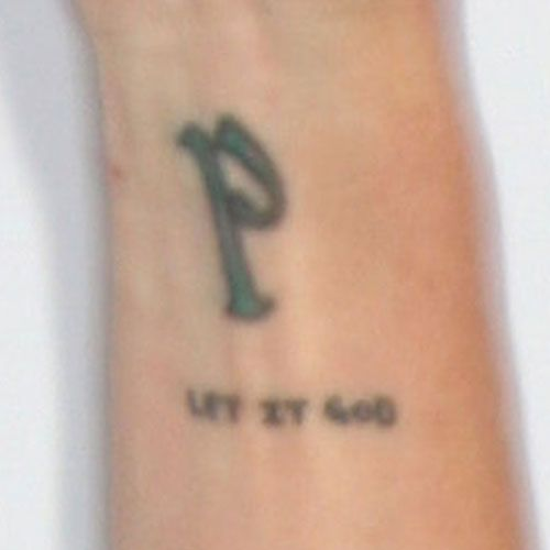Pauley Perrette P Let It G*D Tattoo Abby Sciuto Ncis Ideas And Designs