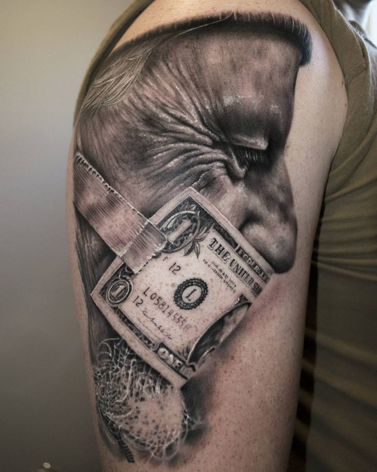 Best 20 Money Tattoo Ideas On Pinterest Money Rose Ideas And Designs