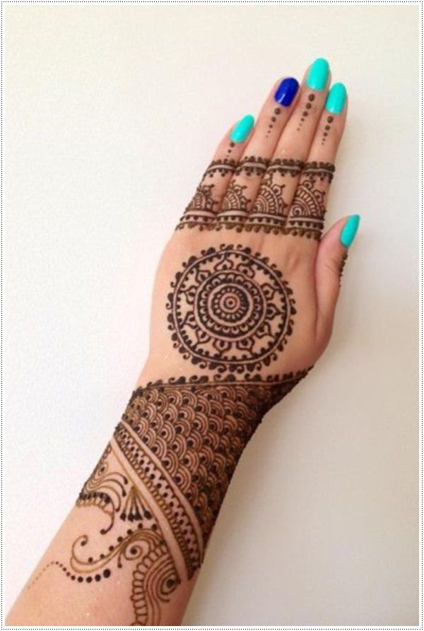 50 Henna Tattoos For Non Permanent Fun More Hennas Ideas And Designs
