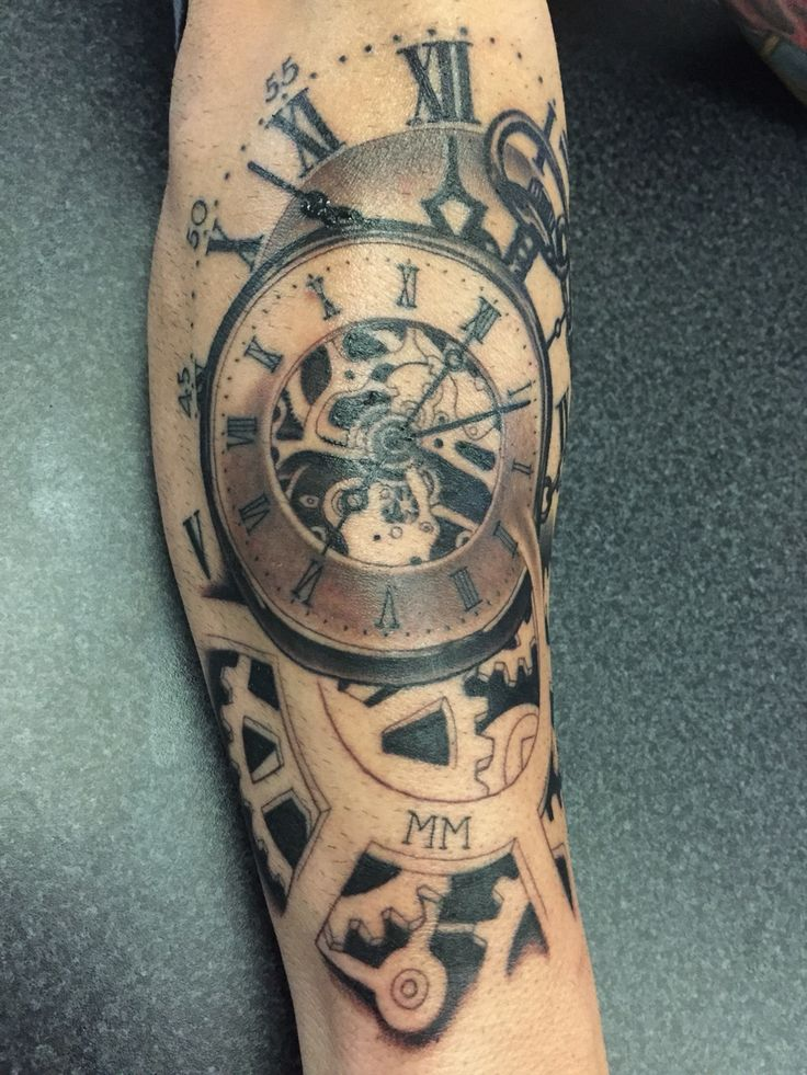 25 Best Ideas About Time Piece Tattoo On Pinterest Ideas And Designs