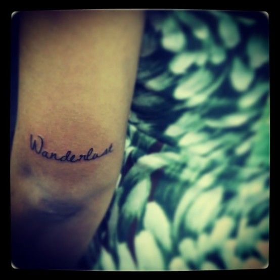 Placement Horizontal Wanderlust Tattoo Above The Elbow Ideas And Designs