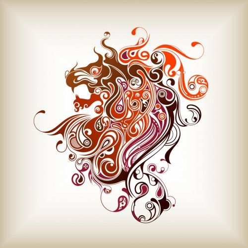 Abstract Lion With Yin Yang Tattoo Ideas Pinterest Ideas And Designs