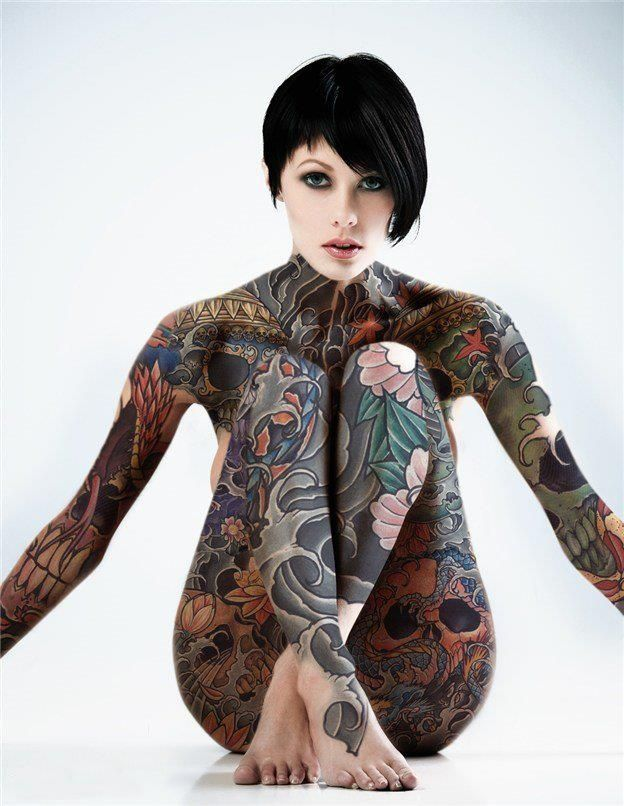 25 Best Ideas About Full Body Tattoos On Pinterest Full Ideas And Designs