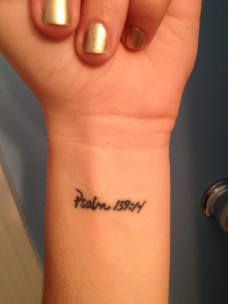25 Best Ideas About Psalm Tattoo On Pinterest G*D Ideas And Designs