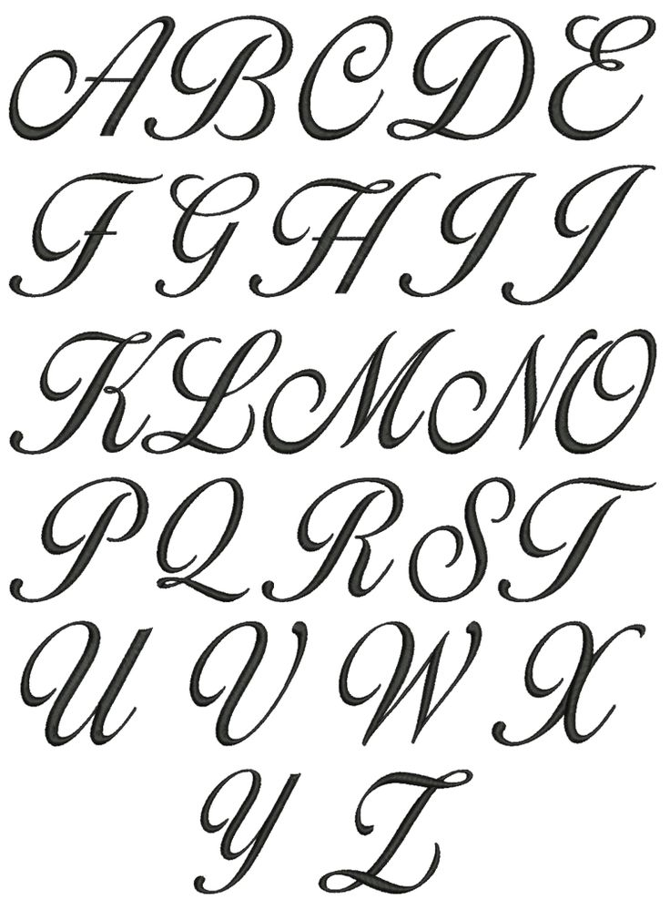 In Vb Net Cursive Letters A Z Lowercase And Uppercase Ideas And Designs