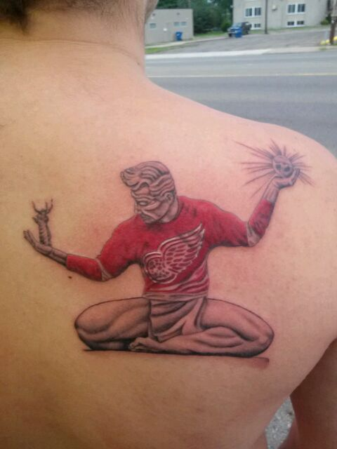 17 Best Images About Detroit Red Wings Tattoos On Ideas And Designs