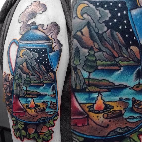 1000 Ideas About Camping Tattoo On Pinterest Outdoor Ideas And Designs