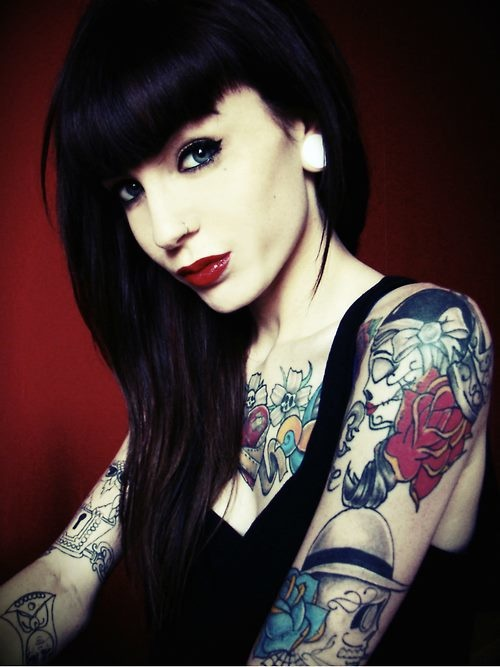 17 Best Images About Models With Tattoos On Pinterest Ideas And Designs