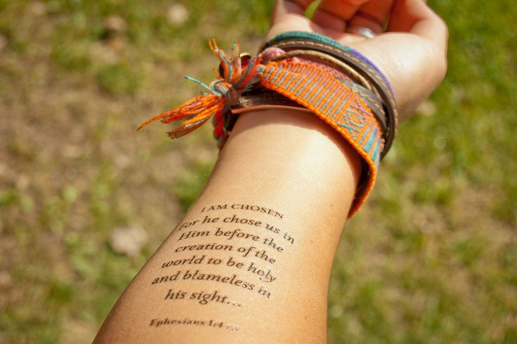 25 Best Ideas About Bible Verse Tattoos On Pinterest Ideas And Designs