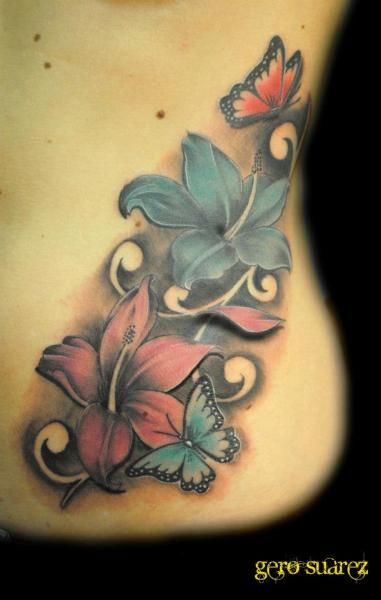 Best 20 Flower Side Tattoos Ideas On Pinterest Ideas And Designs