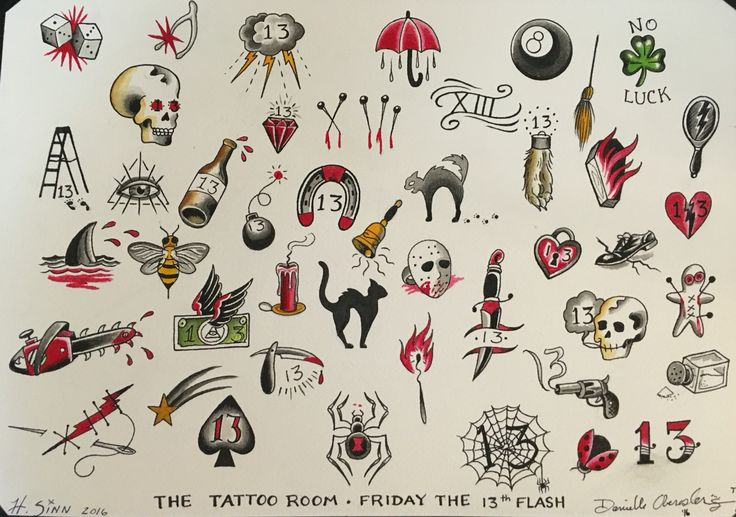 25 Best Ideas About Friday The 13Th Tattoo On Pinterest Ideas And Designs