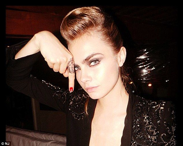 Cara Delevingne Tattoo Beauty Pinterest Cara Ideas And Designs