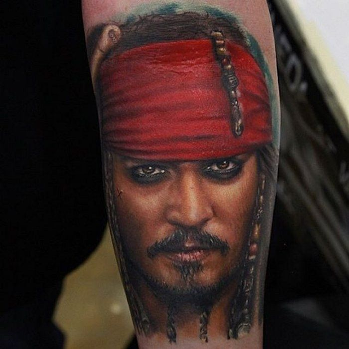 25 Best Ideas About Jack Sparrow Tattoos On Pinterest Ideas And Designs