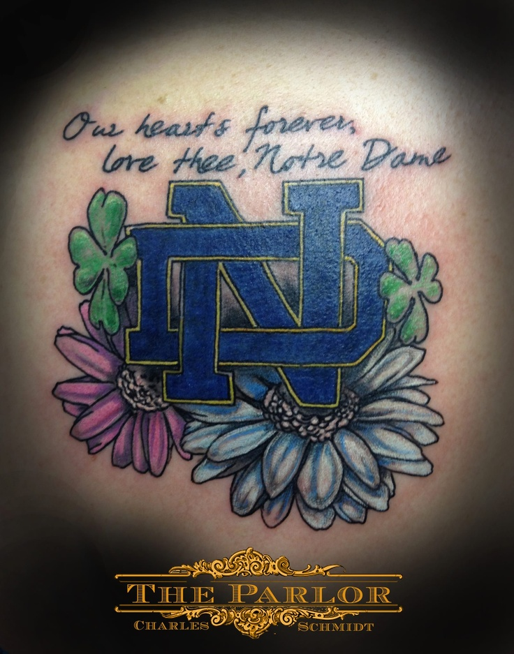 28 Notre Dame Tattoo Designs 17 Best Images About Fighting Tattoos On 7 Best Notre Dame Ideas And Designs