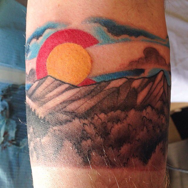 1000 Ideas About Colorado Tattoo On Pinterest Tattoos Ideas And Designs