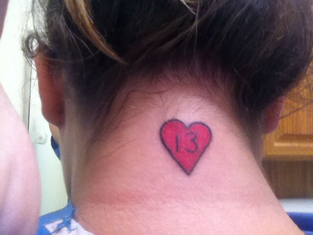 17 Best Ideas About Number 13 Tattoos On Pinterest Roman Ideas And Designs