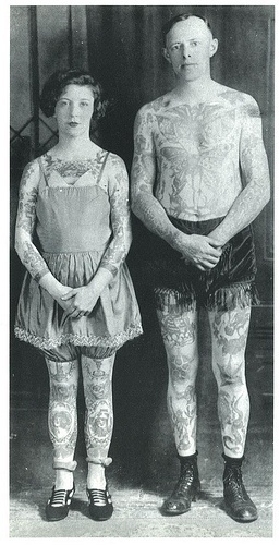 Vintage Old Couple Tattoo Tatoos Pinterest I Ideas And Designs